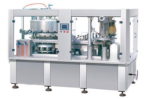 metal can filling machine