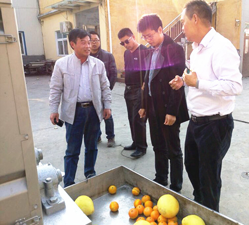 Taiwan Chiameei Group accept our Citrus Oil Grinding Machine