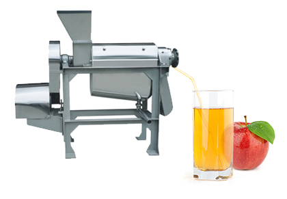 Apple juice processing plant