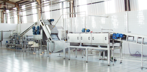 factory fruit juice machinery