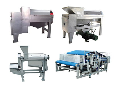5 common industrial fruit juice extractor machines