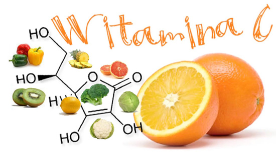 vitamin C contained fruit